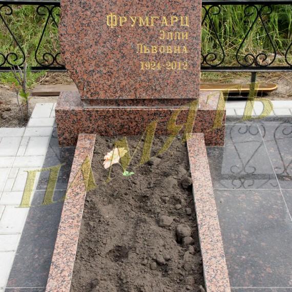 Памятник из дикого камня